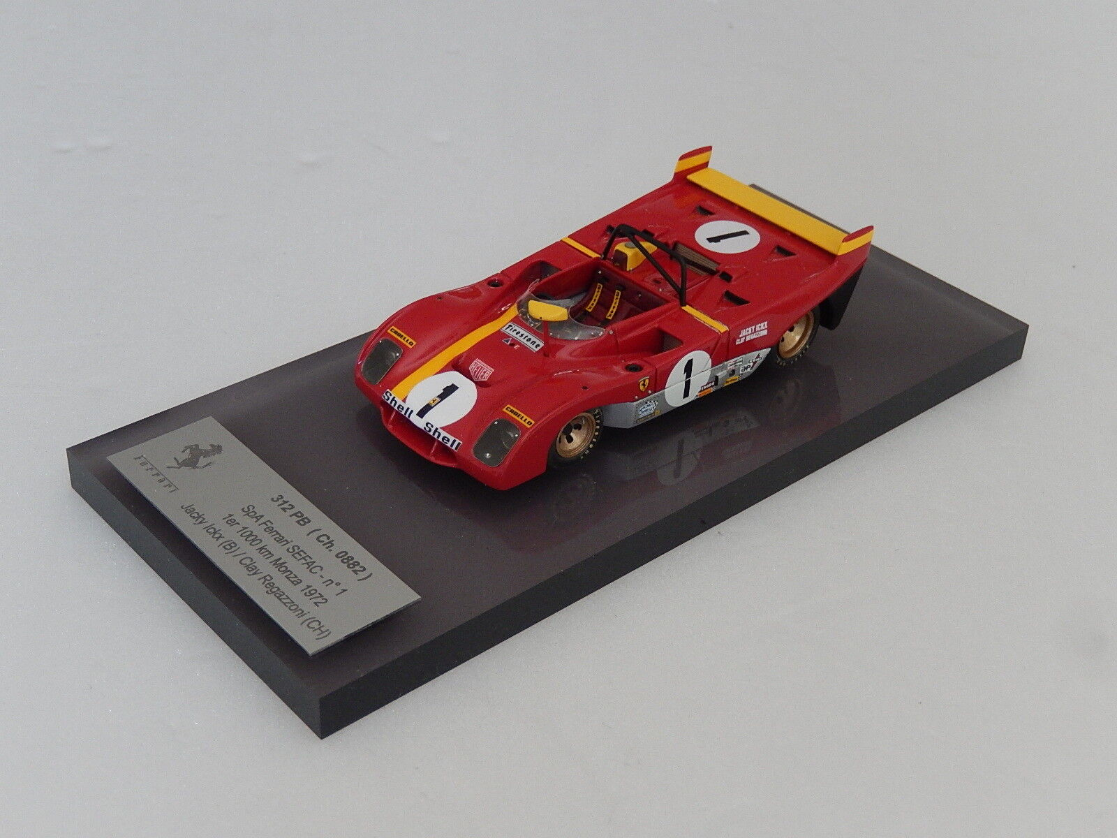 1 43 Tameo built by Alberca Ferrari 312 PB winner Monza 1972   n amr hiro