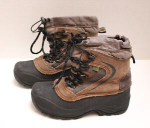 e00d1150f46da Details about Mens Thermolite RUGGED OUTBACK Hiking Boots Brown and Black  Size 6