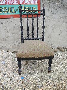Tres Belle Chaise De Nourrice Chauffeuse XIXe Napoleon