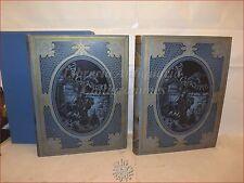 Cervantes: DON CHISCIOTTE DELLA MANCIA 1880 Illustrazioni Gustave DORE' 2 volumi