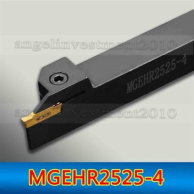 MGEHR2525-4 25×150 mm CNC Grooving Tool holder for MGMN400 Inserts