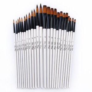 12-Artist-Paint-Brushes-Set-Acrylic-Oil-Watercolour-Painting-Craft-Art-Model-Kit