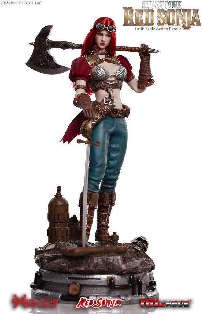 TBLeague PL2019-140B Steam Punk rot Sonja 1 6 Figure Model Deluxe Edition
