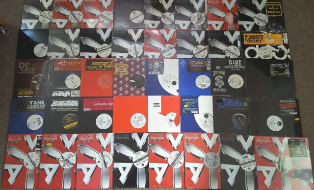 "40 x HIP HOP 12"" RECORD COLLECTION 2000'S SEALED VINYL JOB LOT AV8/R&B DJ BUNDLE"