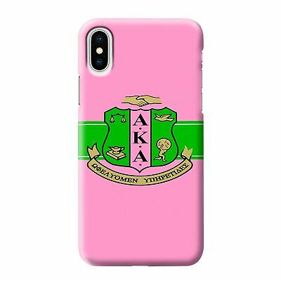 AKA PINK AND GREEN iPhone 6//6S 7 8 Plus X//XS Max XR Case Cover