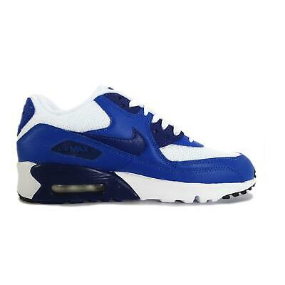 Juniors nike Air Max 90 Maille Baskets Blanc 833418 105 | eBay
