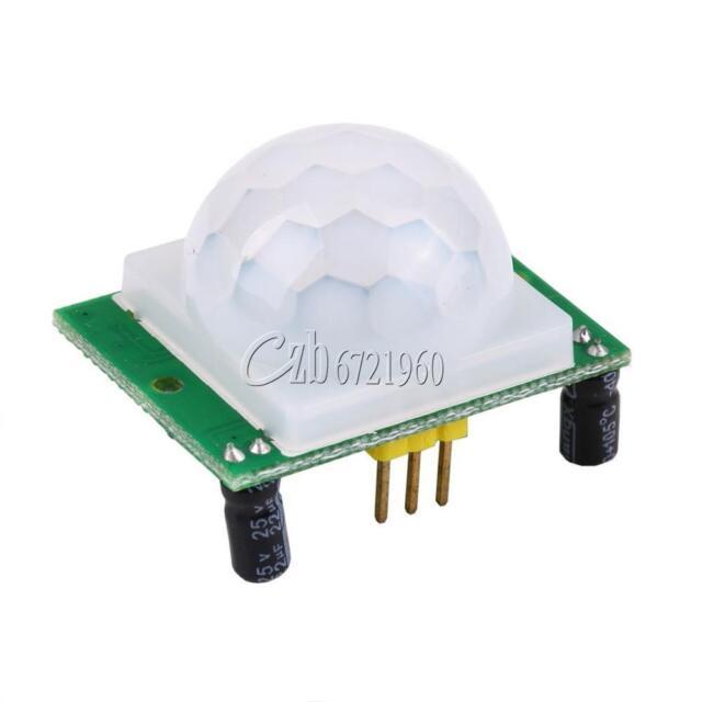 New HC-SR501 Adjust IR Pyroelectric Infrared PIR Motion Sensor Detector Module