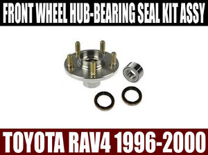 Details about Fits:Toyota Rav4 1996 1997 1998 1999 2000 Front Wheel Hub &  Bearing Kit Assembly