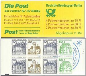 1980-Berlino-Markenheftchen-Libretto-MH-MiNr-11-c-a-oZ