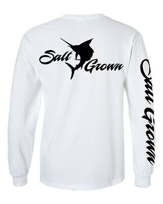 Salt Addiction Saltwater Fishing short sleeve t shirt marlin reel flats sailfish