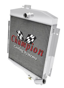 "3 Row AR Champion Radiator W// 16/"" Fan for 1991-1994 Ford Explorer V8 Engine"