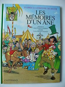 EO-La-comtesse-de-Segur-4-Les-memoires-d-039-un-ane-Carpentier-Casterman