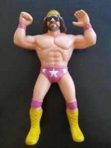 WWF-LJN-Macho-Man-Randy-Savage-Vintage-Titan-Sports-A13