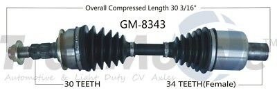 SurTrack GM8231 Right New CV Complete Assembly 12 Month 12,000 Mile Warranty