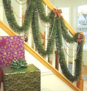 Christmas Garland  12 feet  Soft Pine Decoration Indoor Green