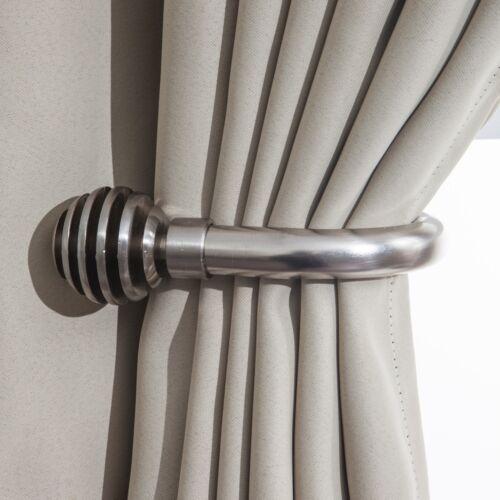 Sliced Ball 25-28 mm Telescopic Extendable Curtain Pole Set Holdbacks Available