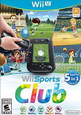 Wii Sports Club likenew (Nintendo Wii U, 2014) - Japanese Version