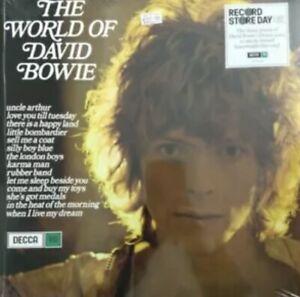 DAVID-BOWIE-034-THE-WORLD-OF-BOWIE-034-NEW-amp-SEALED-LTD-EDITION-BLUE-VINYL-LP-RSD-2019