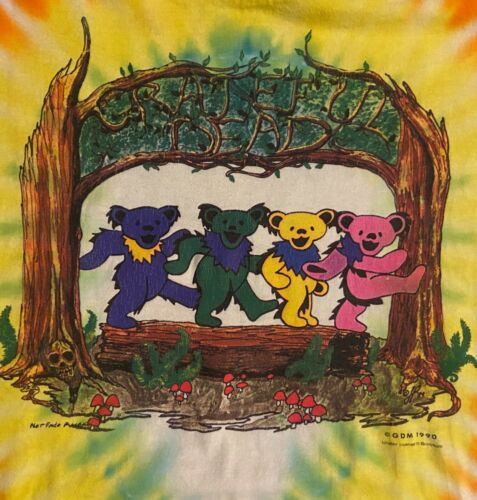 vintage 90s Greatful Dead Bears T Shirt XL Nike SB