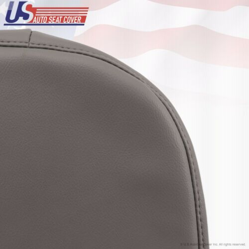 2008 Ford F250 F350 F450 F550 XL Driver /& Passenger Bottom Vinyl Seat Cover Gray