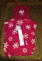 Life Is Good Girls Pajama Set snowflakes Xx-small 2t/3t With Tags