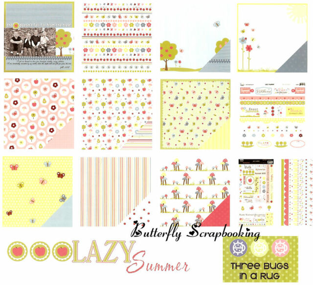 Delicate Cozy Lazy and Treasured Days Album Kits; Creative Memories; Choose!