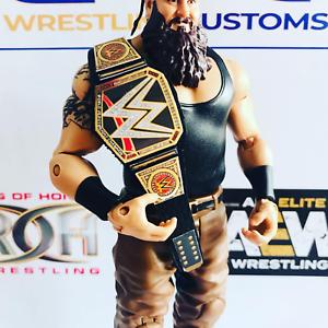 Titulo-personalizado-WWE-Campeonato-De-Cuero-Real-para-Mattel-Jakks-Hasbro-Figuras