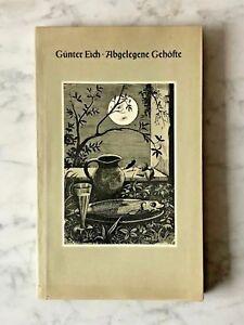 Guenter-Eich-Abgelegene-Gehoefte-Frankfurt-M-1948-Erstausgabe
