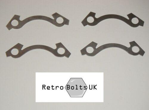 DISCHI dei freni per mozzo anteriore in acciaio inox blocco schede-Mk1 Mk2 Escort MEXICO RS