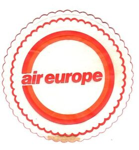 AIR-EUROPE-AIRLINE-CUP-MAT-COASTER