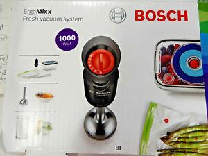 Bosch ErgoMixx MS6CB61V1 Stabmixer,1000W  Pianoschwarz/Anthrazit  (Me66)