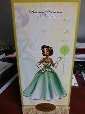 Disney Princess Designer Doll - TIANA w/Limited Edition # 2173