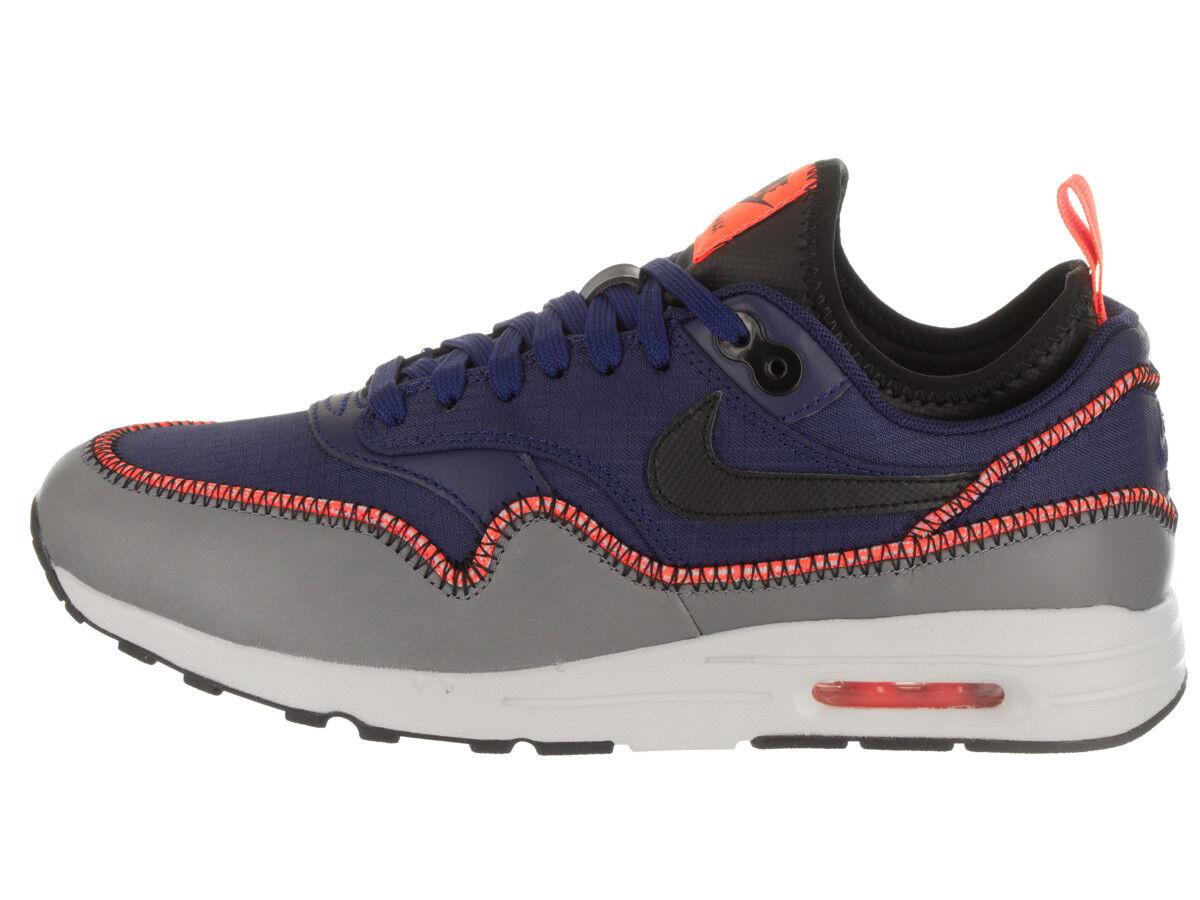 Nike femmes  Air Max 1 Ultra 2.0 SI 881103-400  bleu Casual Fashion  Chaussures