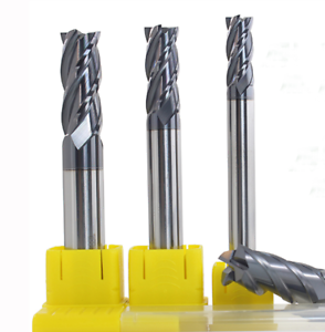 VHM 8mm*20*60 Alloy Carbide Milling Cutter End Mill PVD coating 45HRC 5PCS