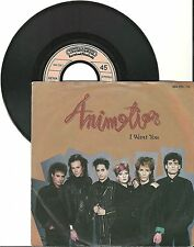 Animation, I want you, G/VG, 7'' Single, 3714