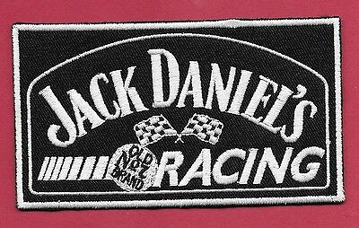 "New Jack Daniel's Racing 2 1/2 X 4 1/2""  Inch Iron on Patch Free Shipping"