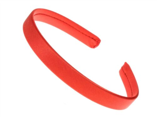 1.5cm Red Satin Headband