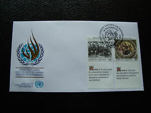 United-Nations-Vienna-Envelope-1er-Day-17-11-1989-cy33-United-Nations