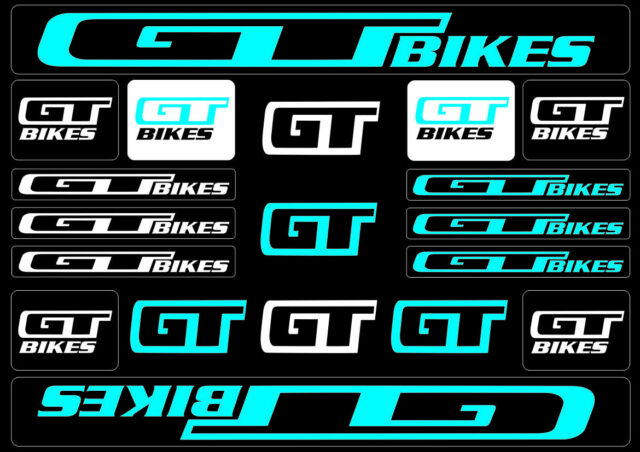 Cannondale Bicycle Frame Decals Stickers Graphic Adhesive Set Vinyl Blue