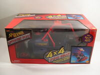 Spider-man Adventure Hero 4 X 4 Spider-buggy (w/ Cannon & Missles) Misb