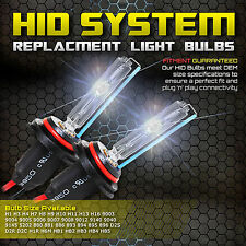 One Pair of Xenon HID Conversion Kit's Replacement Light Bulbs 880 5202 H6M 9006