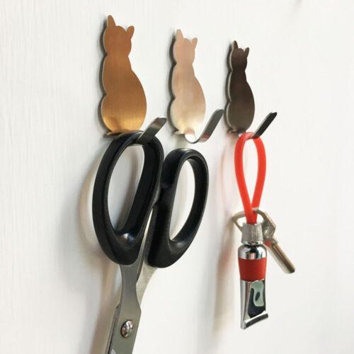 2PCS Portable Hanger Holder Storage Clothes Rack Hooks Wall Hooks for Hanging