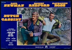 T114 Fotobusta Butch Cassidy And The Sundance Kid Newman Redford