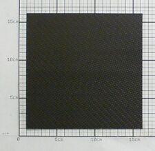 1,5mm Carbon Platte Kohlefaser CFK Platte ca. 150mm x 150mm