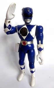 Figurine-Action-figure-Power-rangers-Mighty-Morphin-blue-21-cm-BANDAI-1994