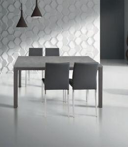 Tavolo moderno allungabile grigio | eBay