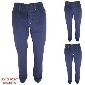 sports shoes f7f36 4c54e Pantaloni donna vita alta 46 48 a jeans cotone estivi blu ...