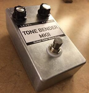 tone bender mkii diy kit guitar gear workshop germanium fuzz pedal ebay. Black Bedroom Furniture Sets. Home Design Ideas