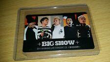 Big bang big show 2011 official photocard Kpop k-pop  shipped in toploader (U.S