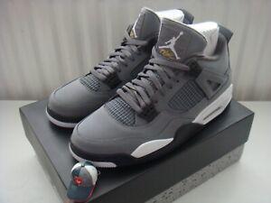 Nike-Air-Jordan-IV-4-OG-Retro-2019-Cool-Grey-US-8-5-UK-7-5-Doernbecher-Cement
